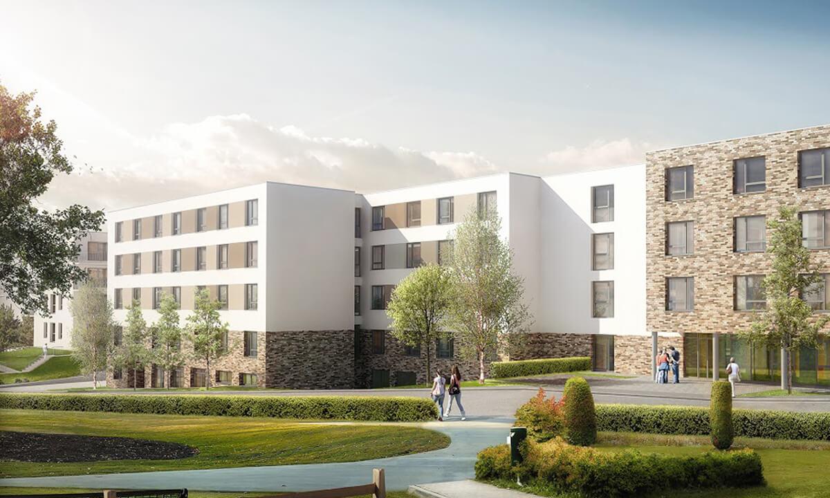 Neubauprojekt Wohn- und Pflegezentrum St. Elisabeth GmbH in Alfeld (Leine)